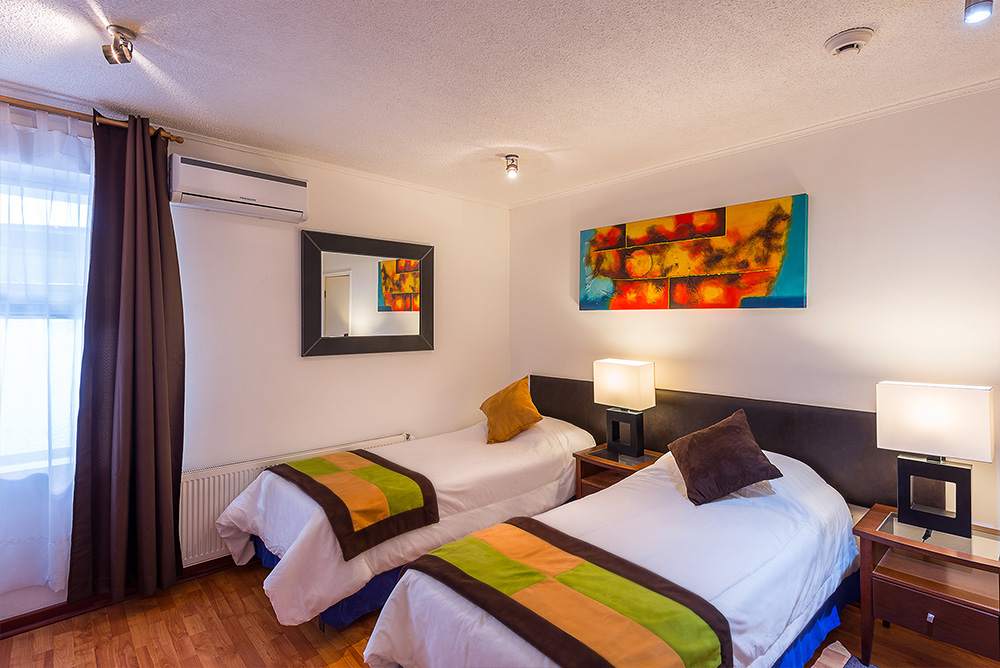 habitacion doble hotel en viña del mar